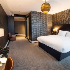 Отель DoubleTree by Hilton Hotel Amsterdam - NDSM Wharf Нидерланды, Амстердам - отзывы, цены и фото номеров - забронировать отель DoubleTree by Hilton Hotel Amsterdam - NDSM Wharf онлайн комната для гостей фото 3