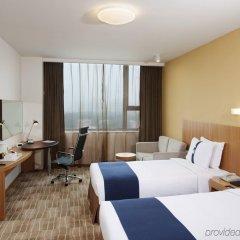 Отель Holiday Inn Express Beijing Minzuyuan Китай, Пекин - отзывы, цены и фото номеров - забронировать отель Holiday Inn Express Beijing Minzuyuan онлайн комната для гостей фото 3