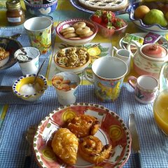 Отель Bed & Breakfast La Casa Delle Rondini Стаффоло питание фото 2