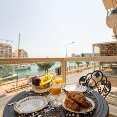 Отель Saint Julian's - Sea View Apartments Мальта, Сан Джулианс - отзывы, цены и фото номеров - забронировать отель Saint Julian's - Sea View Apartments онлайн питание фото 2
