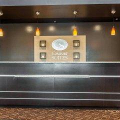 Отель Comfort Suites Columbus США, Колумбус - отзывы, цены и фото номеров - забронировать отель Comfort Suites Columbus онлайн интерьер отеля фото 3