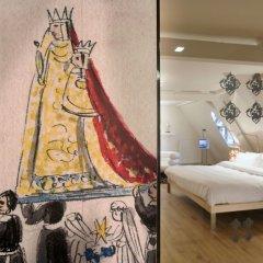 Отель Kruisherenhotel Maastricht Маастрихт комната для гостей фото 2