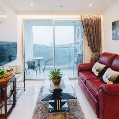 Отель Sea View Residence Cozy Beach By Jeab Паттайя комната для гостей