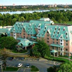 Отель Doubletree By Hilton Gatineau-Ottawa Гатино