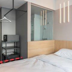 AZIMUT Отель Смоленская Москва 4* Номер SMART Standard с различными типами кроватей фото 11
