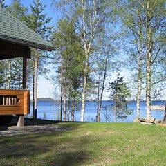 Отель Wilkkilä Йоенсуу приотельная территория