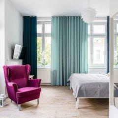 Апартаменты Sanhaus Apartments - Fiszera Сопот комната для гостей фото 5