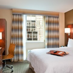 Отель Hampton Inn Manhattan Grand Central комната для гостей фото 2