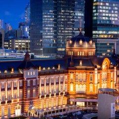 Отель Tokyo Station Токио вид на фасад