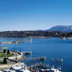 Отель Beau Rivage Geneva Швейцария, Женева - 2 отзыва об отеле, цены и фото номеров - забронировать отель Beau Rivage Geneva онлайн приотельная территория фото 2