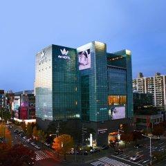 Отель AW Hotel Южная Корея, Тэгу - отзывы, цены и фото номеров - забронировать отель AW Hotel онлайн вид на фасад