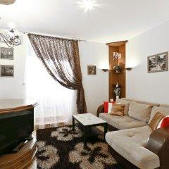 Апартаменты MinskLux Apartment 1 bedroom Engelsa 12 Минск комната для гостей