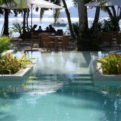 Отель El Nido Mahogany Beach бассейн фото 3