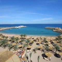 Отель Aqua Vista Resort & Spa Египет, Хургада - 1 отзыв об отеле, цены и фото номеров - забронировать отель Aqua Vista Resort & Spa онлайн пляж фото 2