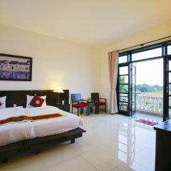 Отель Hoi An Red Frangipani Villa комната для гостей фото 2