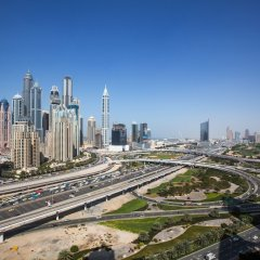 Отель Pullman Dubai Jumeirah Lakes Towers балкон