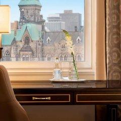 Отель Fairmont Chateau Laurier Канада, Оттава - отзывы, цены и фото номеров - забронировать отель Fairmont Chateau Laurier онлайн удобства в номере фото 2