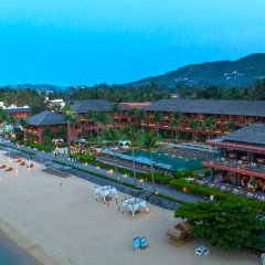 Отель Hansar Samui Resort And Spa Самуи пляж