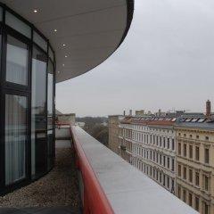 Mercure Hotel Art Leipzig балкон