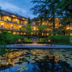 Отель Villa Eden Leading Park Retreat Италия, Меран - отзывы, цены и фото номеров - забронировать отель Villa Eden Leading Park Retreat онлайн приотельная территория