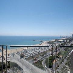 Отель Rent Top Apartments Beach-Diagonal Mar Испания, Барселона - отзывы, цены и фото номеров - забронировать отель Rent Top Apartments Beach-Diagonal Mar онлайн пляж