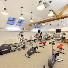 Отель Grandhotel Brno Брно фитнесс-зал фото 3