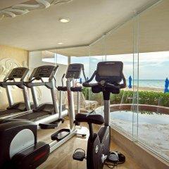 Отель Sunset Fishermen Beach Resort Плая-дель-Кармен фитнесс-зал