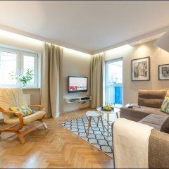 Отель P&O Apartments Chmielna 2 Польша, Варшава - отзывы, цены и фото номеров - забронировать отель P&O Apartments Chmielna 2 онлайн комната для гостей фото 2