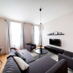 Апартаменты Boris' apartments City centre parks Прага комната для гостей фото 5