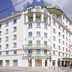 Отель Austria Trend Hotel Ananas Австрия, Вена - 5 отзывов об отеле, цены и фото номеров - забронировать отель Austria Trend Hotel Ananas онлайн вид на фасад