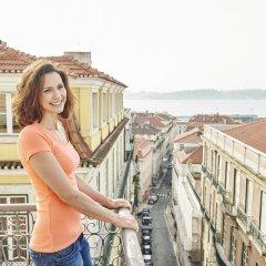 Отель Martinhal Lisbon Chiado Family Suites Лиссабон балкон