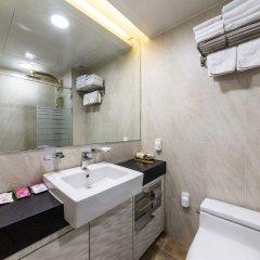 Отель Lumia Hotel Myeongdong Южная Корея, Сеул - отзывы, цены и фото номеров - забронировать отель Lumia Hotel Myeongdong онлайн ванная фото 2