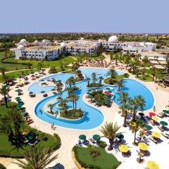 Отель Djerba Plaza Hotel Тунис, Мидун - отзывы, цены и фото номеров - забронировать отель Djerba Plaza Hotel онлайн бассейн фото 2