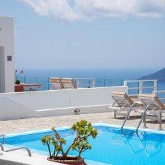 Отель Gizis Exclusive Греция, Остров Санторини - отзывы, цены и фото номеров - забронировать отель Gizis Exclusive онлайн бассейн фото 3