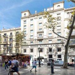 Отель Serhs Rivoli Rambla Барселона городской автобус