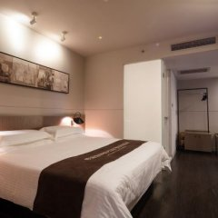 Отель Jinjiang Inn Select (Shenzhen Huanggang Port Imperial Plaza) Китай, Шэньчжэнь - отзывы, цены и фото номеров - забронировать отель Jinjiang Inn Select (Shenzhen Huanggang Port Imperial Plaza) онлайн комната для гостей фото 3