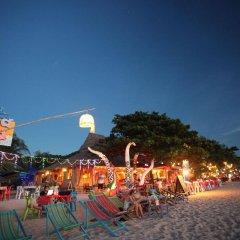 Отель Cha-Ba Bungalow & Art Gallery Таиланд, Ланта - отзывы, цены и фото номеров - забронировать отель Cha-Ba Bungalow & Art Gallery онлайн пляж фото 2