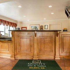 Отель Quality Inn & Suites Гилрой гостиничный бар