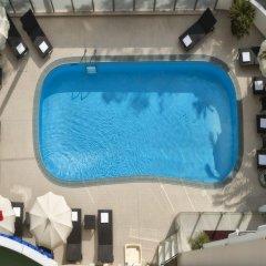 Отель Suite Litoraneo Римини бассейн