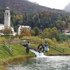 Отель Albergo Meuble Tarandan Форни-ди-Сопра приотельная территория