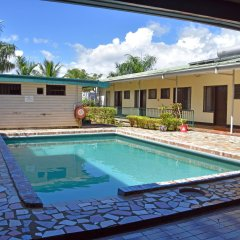 Отель Grand Melanesian Hotel Фиджи, Вити-Леву - отзывы, цены и фото номеров - забронировать отель Grand Melanesian Hotel онлайн бассейн фото 2