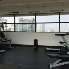 Отель Treetops Condo Паттайя фитнесс-зал