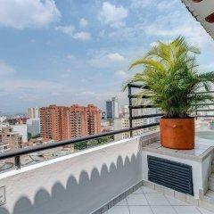 Отель Travelers Suites Juanambú Колумбия, Кали - отзывы, цены и фото номеров - забронировать отель Travelers Suites Juanambú онлайн балкон