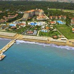 Bellis Deluxe Hotel Турция, Белек - 10 отзывов об отеле, цены и фото номеров - забронировать отель Bellis Deluxe Hotel онлайн пляж