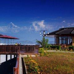 Отель Rupakot Resort Непал, Лехнат - отзывы, цены и фото номеров - забронировать отель Rupakot Resort онлайн приотельная территория фото 2