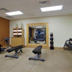 Отель Hampton Inn & Suites Columbus/University Area Колумбус фитнесс-зал фото 3