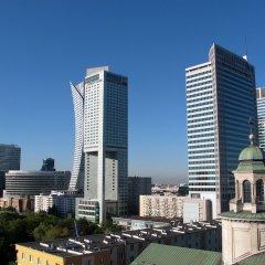 Отель Centre Apartamenty Warszawa Польша, Варшава - отзывы, цены и фото номеров - забронировать отель Centre Apartamenty Warszawa онлайн балкон