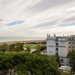 Hotel Milton Rimini пляж