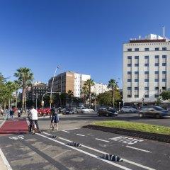 Отель Eurostars Monumental Барселона городской автобус