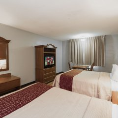 Отель Red Roof Inn Meridian комната для гостей фото 4